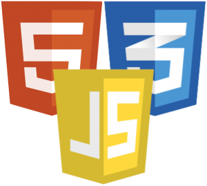 HTML5 + CSS + JavaScript Mobile App Programming languages